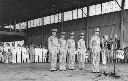 Roosevelt appoints Douglas MacArthur