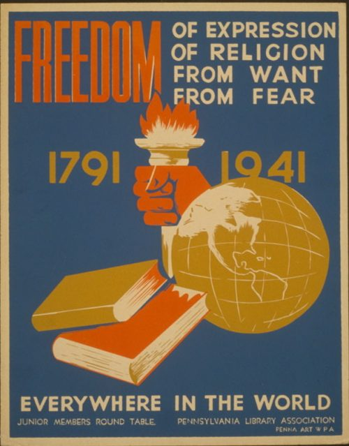 """Four Freedoms"" – promotion begins"