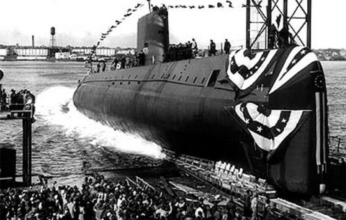 The world's first nuclear-powered submarine