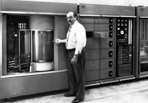 IBM releases the first computer with a hard drive