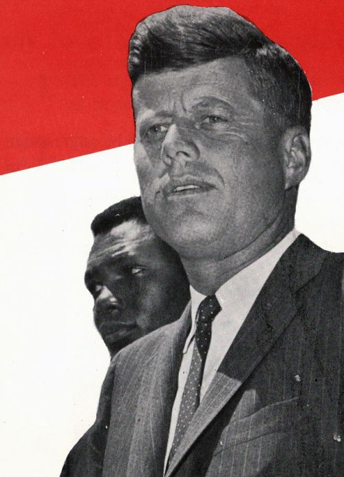 John F. Kennedy is elected president