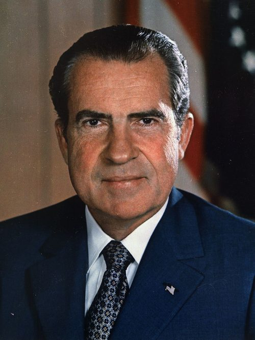 Richard Nixon becomes president