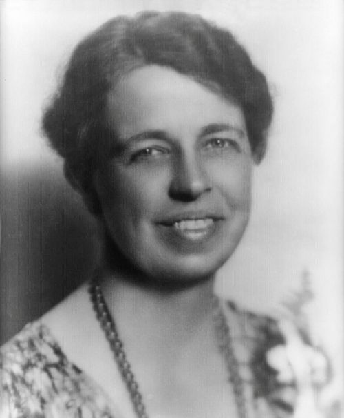 Mrs. Roosevelt is the honored guest at the Cause and Cure of War Conference