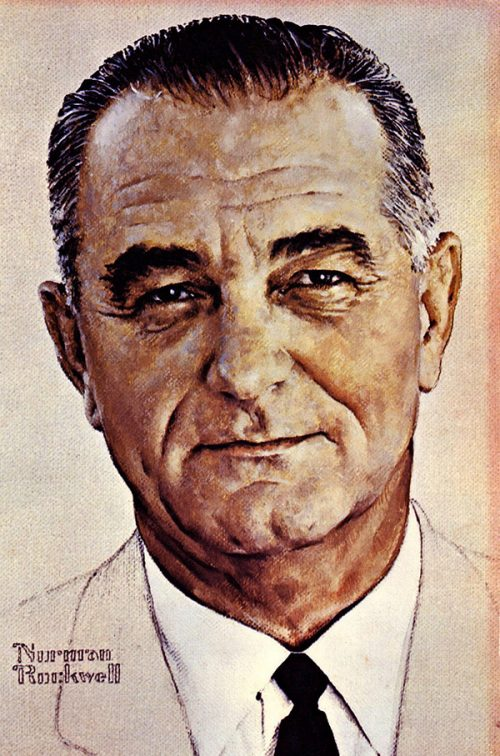 """Portrait of Lyndon B. Johnson"""