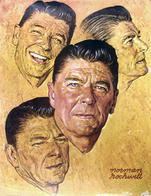 """Portrait of Ronald Reagan"""