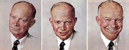 "Rockwell's Illustration ""Eisenhower Portraits,"" published"