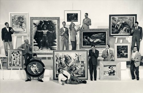 Rockwell joins Famous Artists School as one of the founding faculty