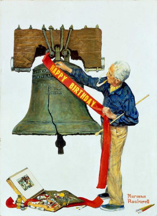 Rockwell's last cover