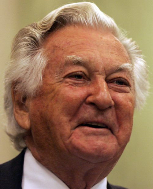 Bob Hawke is Australia's prime minister after a Labor victory in the election
