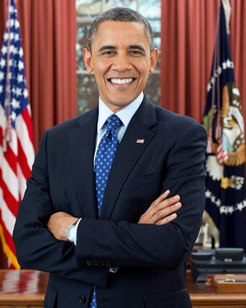 Barack Obama becomes presiden