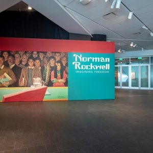 """Norman Rockwell: Imagining Freedom"" exhibition at the Denver Art Museum"