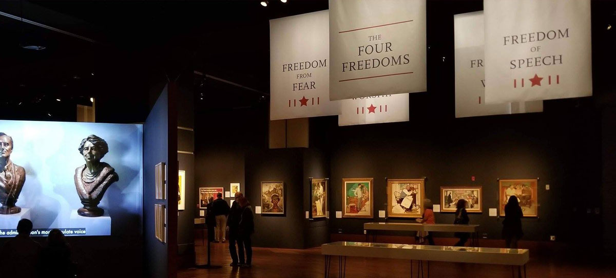 Rockwell, Roosevelt & the Four Freedoms at the Henry Ford Museum